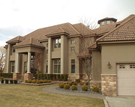 Encore stucco stone ess residential stucco stone - Exterior wall finishes for homes ...